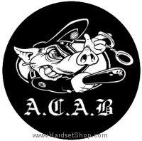 Placka A.C.A.B. PIG-0