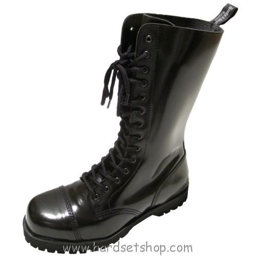 """Boots & Braces 14 dírek """"BLACK""""-0"""