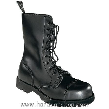 """Boots & Braces 10 dírkové """"BLACK""""-0"""