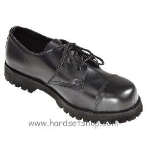 """Boots & Braces 3 dírkové """"BLACK""""-0"""