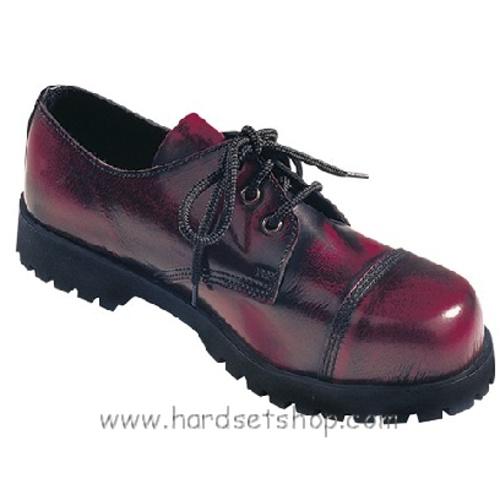 """Boots & Braces 3 dírkové """"BORDO""""-0"""