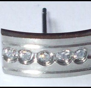 Chirurgická ocel - náušnice 3E-0
