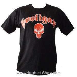 "Hooligan triko ""Skull Orange""-0"