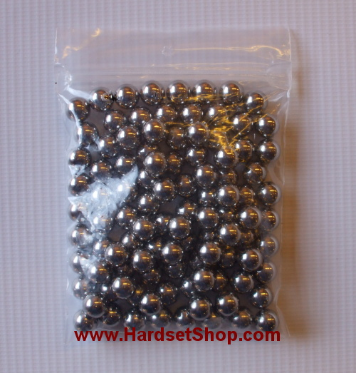 Ocelové kuličky pro praky - 7,9mm (100ks)-0
