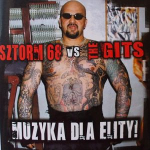 split CD - Sztorm 86 vs. The Gits-0