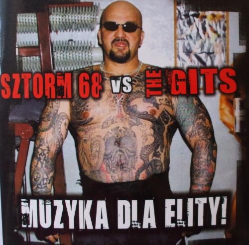 split CD - Sztorm 86 vs. The Gits-0