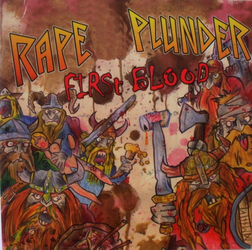 Rape Plunder - First Blood-0