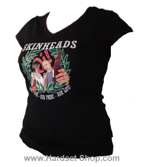 "Dámské triko ""Skinheads Our Cult""-0"