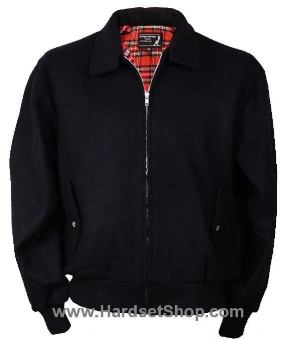 "Harrington zimní ""BLACK""-0"