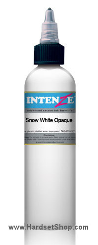 "Tattoo barva - Intenze 30ml ""Snow White Opaque""-0"