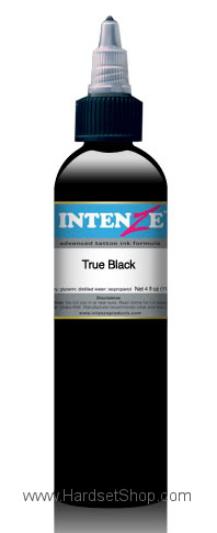 "Tattoo barva - Intenze 120ml ""True black""-0"