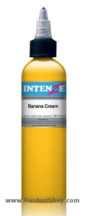 "Tattoo barva - Intenze 30ml ""Banana Cream""-0"