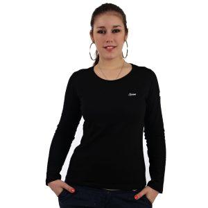 """Hardset dámské triko s dlouhým rukávem """"BLACK""""-0"""