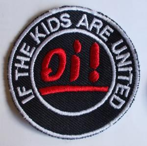 nášivka If the kids are united-0