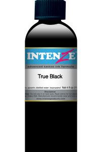 """Tattoo barva - Intenze 30ml """"True black""""-0"""