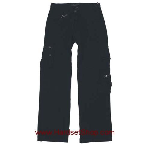 """Kalhoty Pure Trash """"BLACK""""-0"""