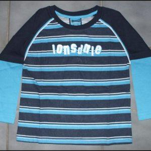 """Lonsdale dětské triko """"NAVY-Stripes""""-0"""