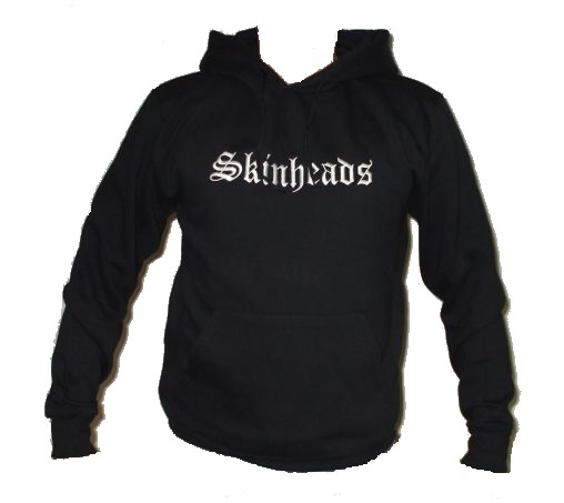 Skinheads mikina s kapucí-0