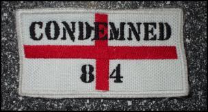 Nášivka Condemned 84-0