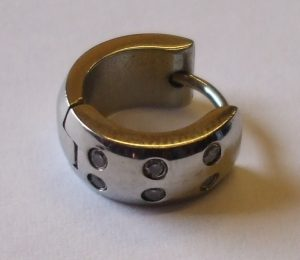 Chirurgická ocel - náušnice 6 kamínků-0