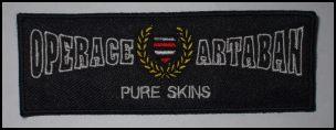 Nášivka Operace Artaban - Pure skins-0