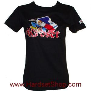 """Hardset tričko dámské """"CZECH Maska""""-0"""