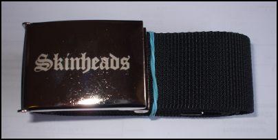 Skinheads opasek látkový-0