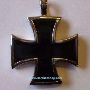 """Chirurgická ocel - přívěšek """"Válečný Kříž""""-0"""
