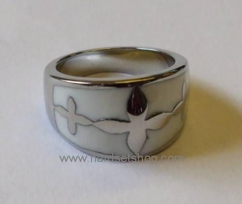 Chirurgická ocel prsten 490A-0