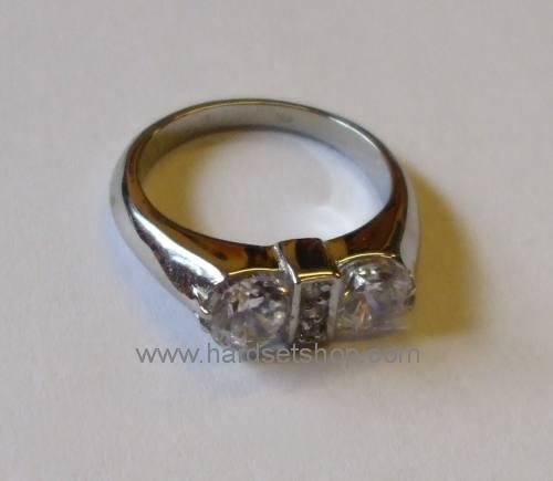 Chirurgická ocel prsten 490B-0
