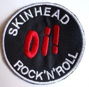 nášivka SKINHEAD Oi! ROCK´N´ROLL-0