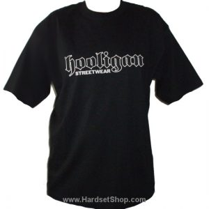 "Hooligan triko ""Logo-BLACK""-0"