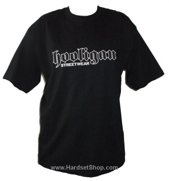 "Hooligan triko ""Logo-BLACK""-0"