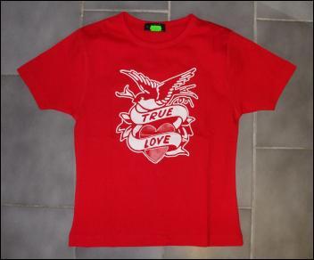 """Triko dámské True Love """"RED""""-0"""