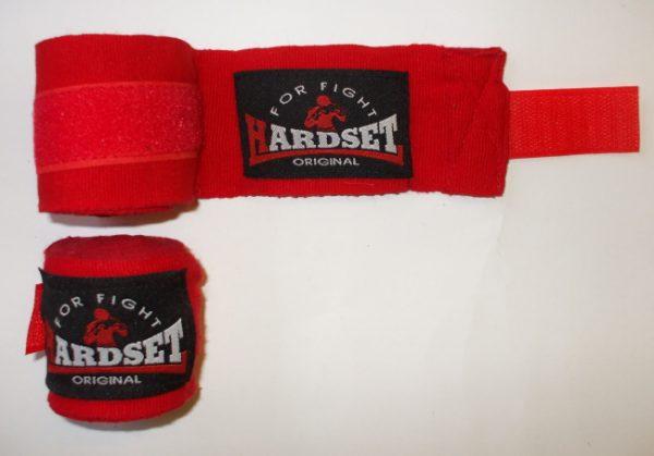 """Bandáže Hardset 2,5m poloelastické """"RED""""-0"""