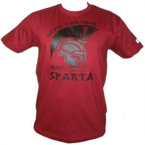 """Hardset triko bordo - """"This is Sparta""""-0"""
