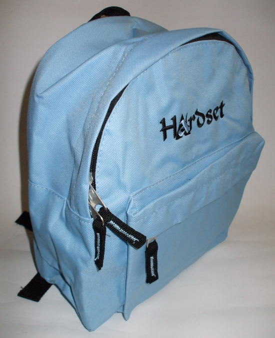 "Hardset batůžek ""Blue"" 27*32cm-0"