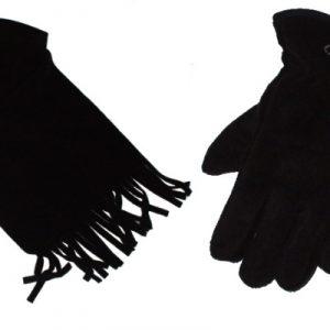 """Hardset dámské rukavice+šála """"Fleece""""-0"""