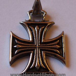 """Chirurgická ocel """"Maltézský kříž 2,7cm"""" -0"""