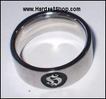 Hooligan prsten z chirurgické oceli-0