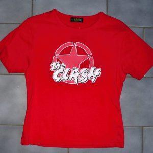 """Triko dámské """"The Clash-red""""-0"""