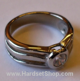 """Chirurgická ocel prsten """"KK""""-0"""