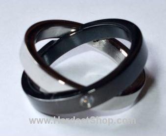"""Chirurgická ocel prsten """"SP""""-0"""