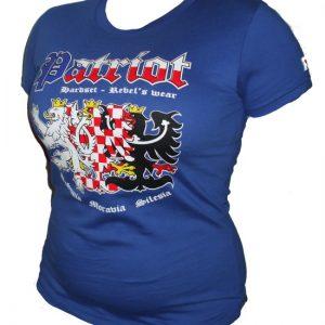 """Hardset dámské tričko """"PATRIOT - BOHEMIA, MORAVIA, SILESIA""""-0"""