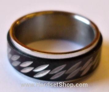 """Chirurgická ocel prsten """"CVR""""-0"""