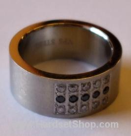 """Chirurgická ocel prsten """"KMTR""""-0"""