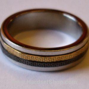 """Chirurgická ocel prsten """"OKR""""-0"""