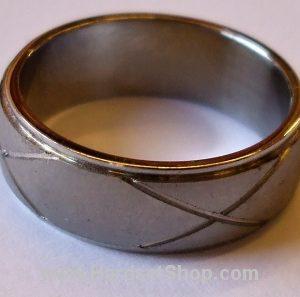 """Chirurgická ocel prsten """"KR""""-0"""