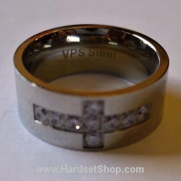 """Chirurgická ocel prsten """"CR*""""-0"""