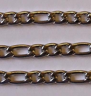 "Sada řetěz + náramek z chirurgické oceli ""FGR1""-0"